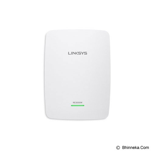 LINKSYS Single Band Wireless-N Range Extender [RE3000W-AP] - Range Extender